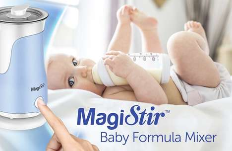 Formula-Mixing Machines - The MagiStir Optimizes Formula for Babies and Saves Parents Time