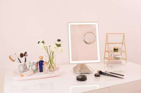 Versatile Smart Mirrors - iHome's iCBV10 Mirror is Designed to Cooperate with Technology