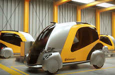 Futuristic Urban Transport Vehicles