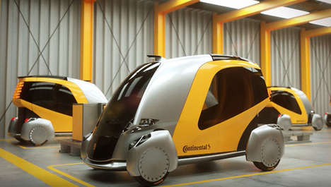 Futuristic Urban Transport Vehicles - The Continental 'BEE' Offers Clean and Safe Passage for Three