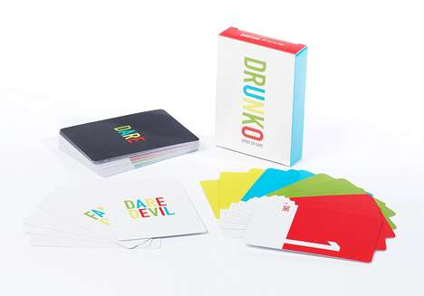 Drinking Dare Card Games - The Drunko 'Drink or Dare' Party Card Game Encourages Hijinks