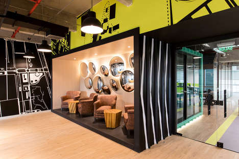 Shipping Container Offices - Bogotá's Globant Office Features Quirky Design Elements