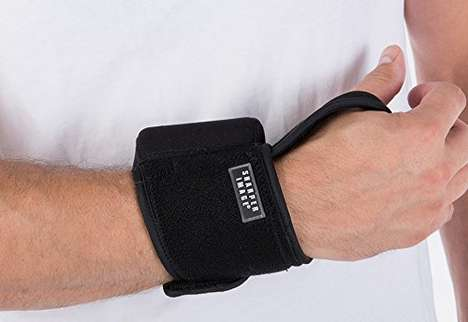 Infrared Therapy Wrist Wraps - The Sharper Image Wrist Heat Therapy Wrap Has a Cordless Design