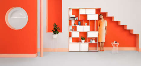 Modular App-Configured Furnishings - Tylko Shelving is Made to Order Through a Multiplatform App