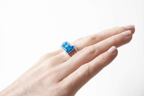 LEGO-Compatible Jewelry Collections - Playful&Precious Jewelry is Customized with the Toy Bricks