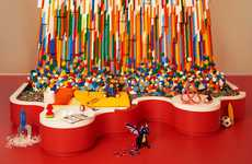 Artistic LEGO Installations - LEGO House is a Life-sized Room Made Up of LEGO Pieces