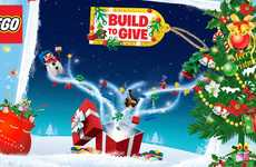 Charitable Toy-Building Campaigns - LEGO's 'Build to Give' Supports Kids in Hospitals