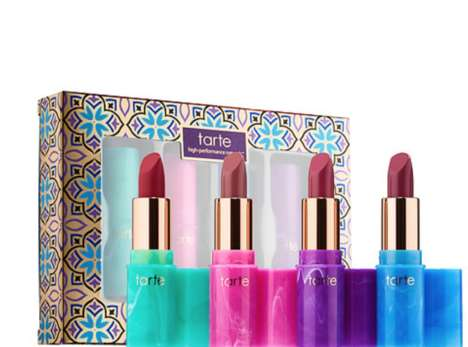 Exclusive Mermaid-Inspired Lipsticks - Tarte's 'Mermaid Kisses' Kit is Available for a Limited Time