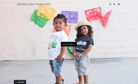 Spanglish Graphic Tees - 'Spanglish Threadz' Celebrate Hispanic Culture