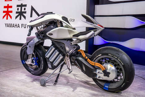 Conceptual Gesture-Controlled Motorcycles - Yamaha's Motoroid Was Demoed at the Tokyo Motor Show