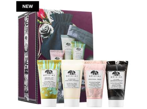 Natural Mini Face Mask Sets - This Kit from Origins Skincare Contains Four Different Masks