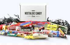 Retro Candy Subscriptions - The Nostalgic Candy Club Offers Carefully Curated Candies