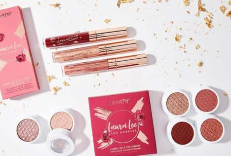 Collaborative Makeup Guru Collections - ColourPop and Laura Lee Joined Forces to Create New Products