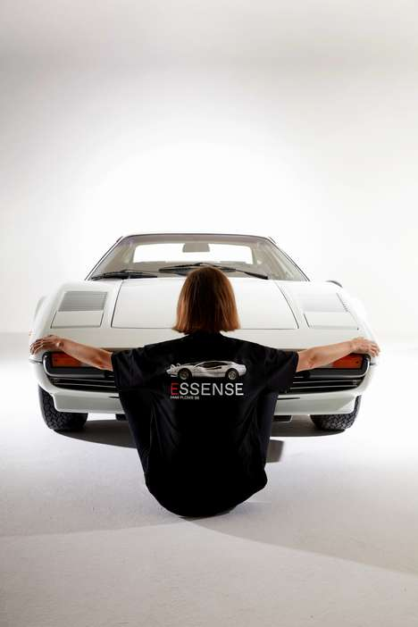 Retro Car Clothing Collaborations - ESSENSE's Capsule Collection Was Inspired by the Vintage Ferrari