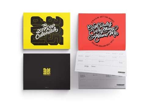 Celebratory Hip-Hop Calendars