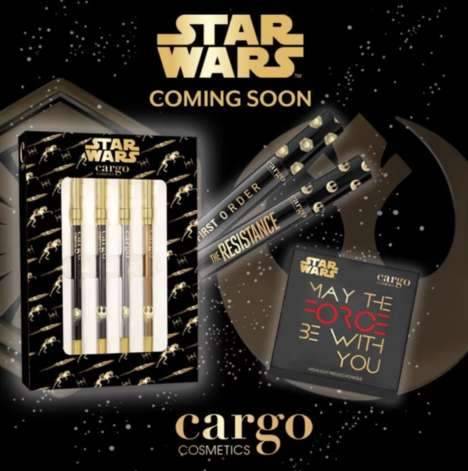 Sci-Fi Cosmetics Collections - The Cargo Cosmetics Star Wars Helps You Rule the Galaxy