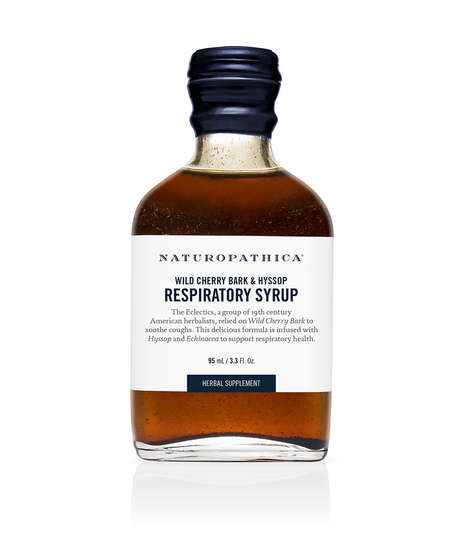 Herbal Respiratory Syrups - Naturopathica'a Syrup Draws from 19th Century Herbalist Practices