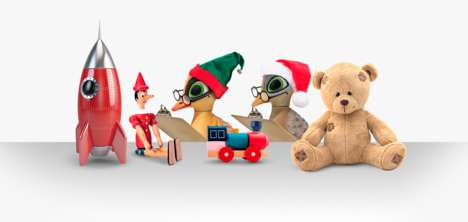 Holiday Toy-Testing Pop-Ups - intu's Toy Testing Lab Has Kids Help Santa's Elves