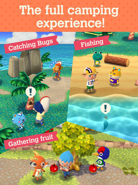 Mobile Camping Games - Animal Crossing: Pocket Camp Has Players Manage a Campsite