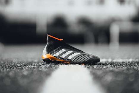Copper-Accented Cleats