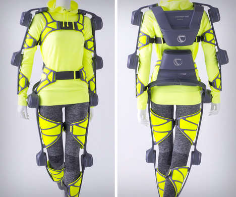 Supportive Exoskeleton Suits - The Cyberdyne 'HAL' Suit Assists Wearers with Heavy Lifting