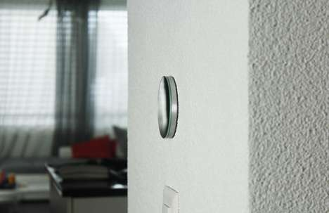 Demure Reflective Light Switches - The 'sw1tch.me Ena' Switch Detects Motion and More