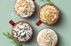 Festive Almond Milk Drinks - The Starbucks Toffee Almondmilk Hot Chocolate is Sweet and Nutty