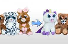 Expression-Changing Plush Toys