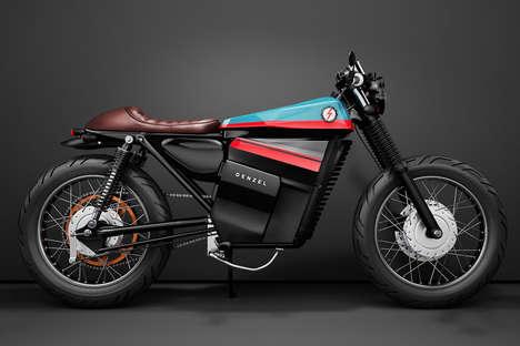 Futuristic Electric Motorbikes