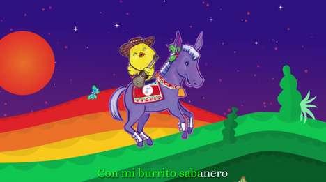 Hispanic Song-Inspired Content