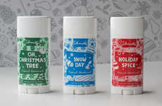 Seasonally Scented Deodorants - Schmidt's Naturals Launched a Festive Naturals Holiday Collection