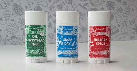 Seasonally Scented Deodorants