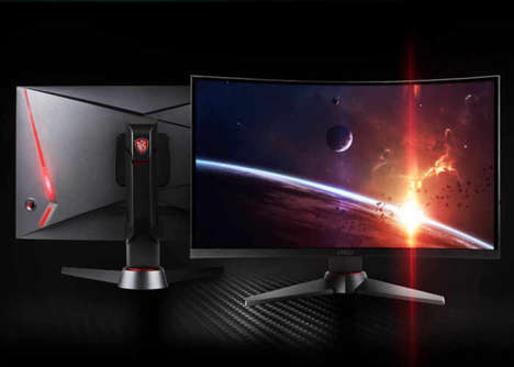 Intensive Gamer PC Screens - The MSI Optix MAG24C Curved Gaming Monitors are Responsive