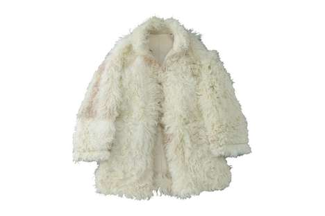 Oversized Shaggy Fur Coats