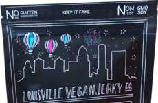 Pineapple Jerky Snacks - Louisville Vegan Jerky Co. Makes a Sweet and Sour Meat-Free Jerky