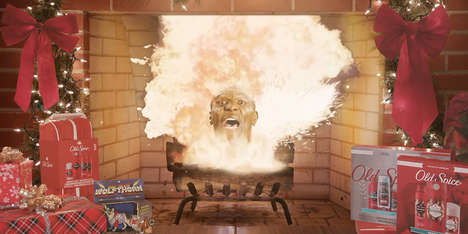 Explosive Fireplace Ads