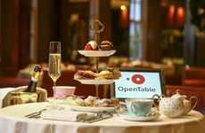 Stress-Free Shopping Experiences - OpenTable's Relaxing Black Friday Experience is Set in a Tea Room