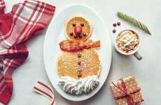 Festive Snowman Pancakes - IHOP's 'Fluffy the Snowman Pancakes' Offer a Festive Treat for Kids