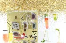 Prosecco-Adorning Advent Calendars - Popaball's Prosecco Advent Calendar Has Edible Enhancements