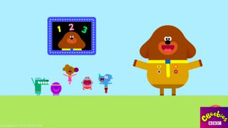 Counting Challenge Apps - BBC Worldwide Collaborated on 'Hey Duggee' to Teach Counting for Kids