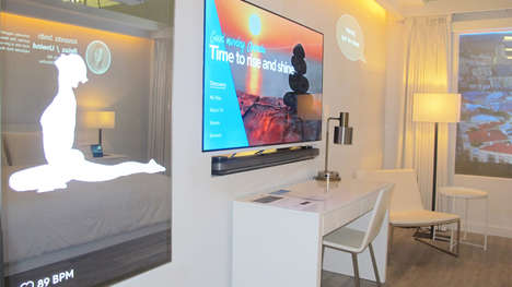 IoT Hotel Suites - Marriott's 'IoT Guestroom' Offers a Preview of the Hotel of the Future