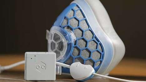 Smart Air-Filtering Masks