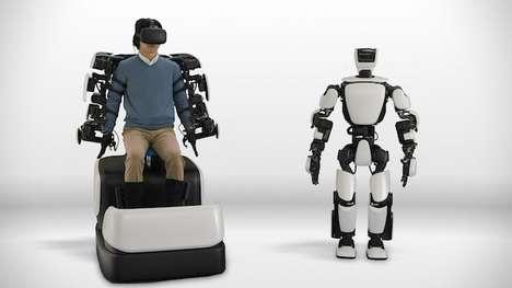 Mimicking Humanoid Robots