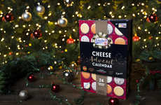 Cheese-Only Advent Calendars - 'So Wrong It's Nom' and with Asda Created a Cheese Advent Calendar
