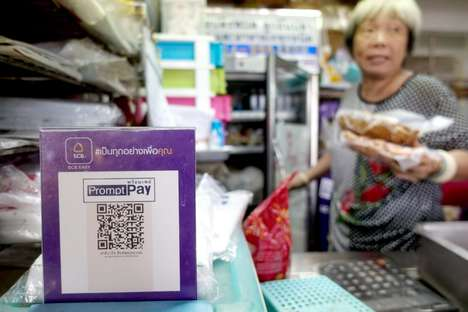 Mobile Street Vendor Payments - Some Street Food Vendors in Thailand Now Accept Mobile QR Payments