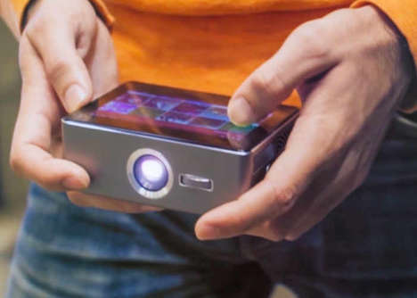 Miniature Pocket Projectors