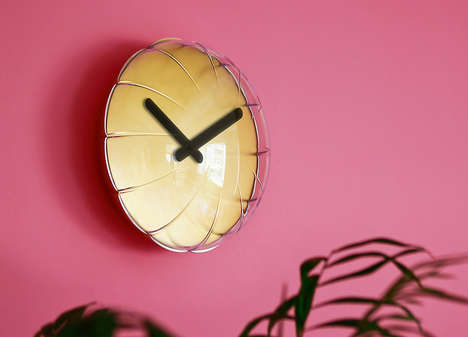 Balloon-Inspired Wall Clocks - The 'Aria' Clock Celebrates Every Hour of the Day