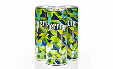 Contemporary Art Drink Cans