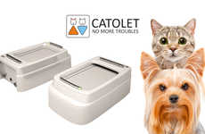 Automated Litter Boxes - 'CATOLET' is a Next-Generation Litter Box for Cats and Small-Breed Dogs