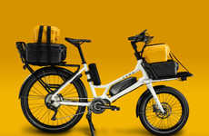 Modular Electric Cargo Bikes - The 'CERO One' Bike Offers Excellent Range and Components